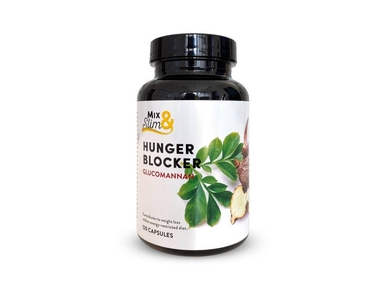 Mix Slim Hunger blocker glukomannan 120 kapslí