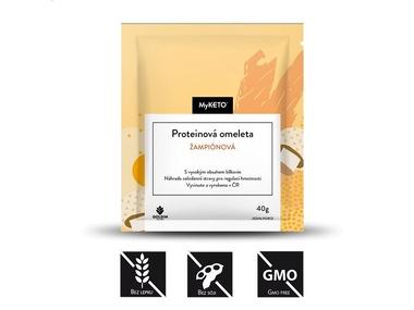 MyKETO Proteinová omeleta žampionová, 5x40 g