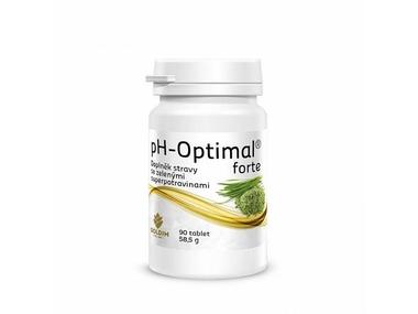 GOLDIM pH-Optimal Forte, detoxikace, překyselení, 58,5 g, 90 tablet
