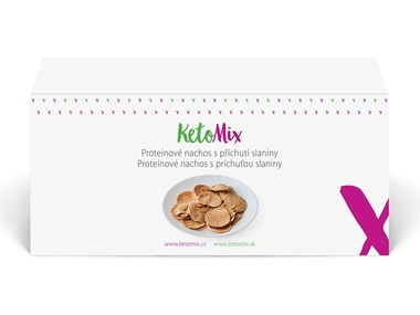KetoMix Proteinové nachos - slanina