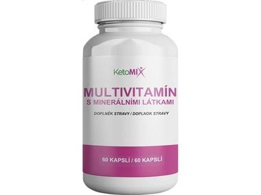 KetoMix Multivitamín s minerálními látkami (60 kapslí)