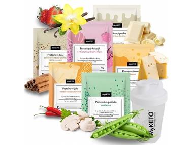 MyKETO Proteinová keto dieta, výhodný balíček START 10 dnů, 50 jídel, 2,75 kg Varianty produktu: standard