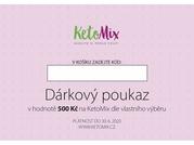 KetoMix Dárkový voucher v hodnotě 500 Kč