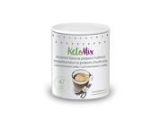 KetoMix Instantní káva na podporu hubnutí s příchutí vanilky (47 porcí)