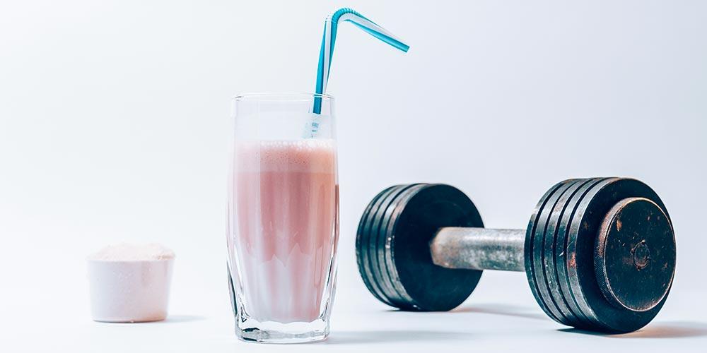 Proteinové koktejly - shutterstock