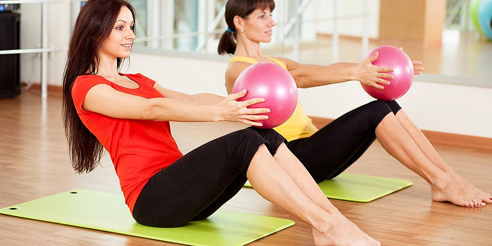 Cvičení pro ženy Contours - Shutterstock
