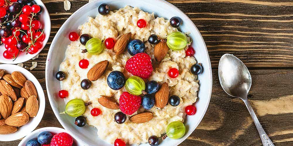 Ovesná kaše a proteinové kaše - Shutterstock
