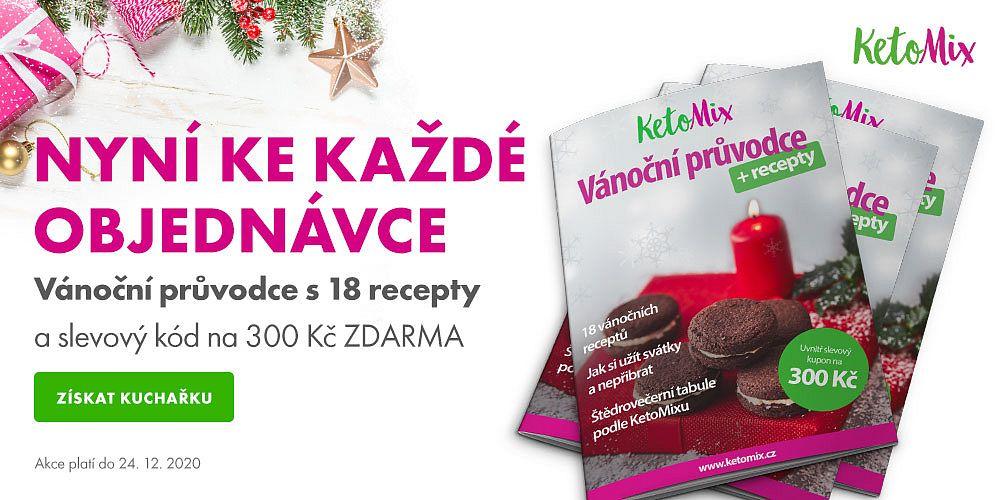 KetoMix - Vánoční průvodce s 18 recepty