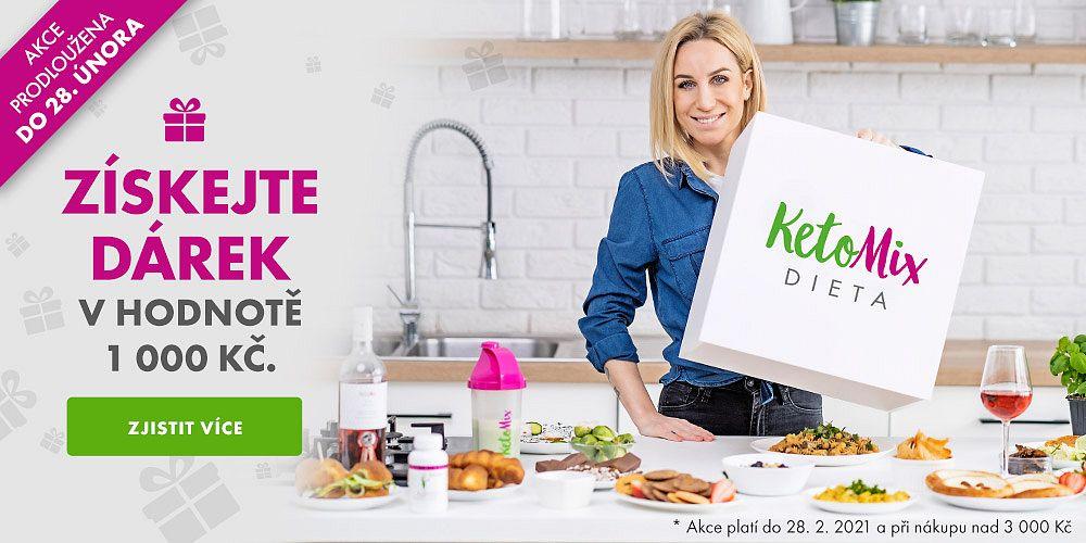 KetoMix.cz - Získejte dárek u KetoMixu za 1 000 Kč při nákupu nad 3 000 Kč