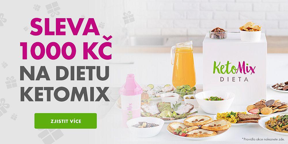 KetoMix.cz - voucher v hodnotě 1000 Kč na další nákup