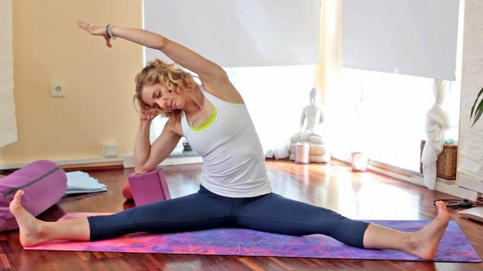 Jin jóga na otvírání hrudníku