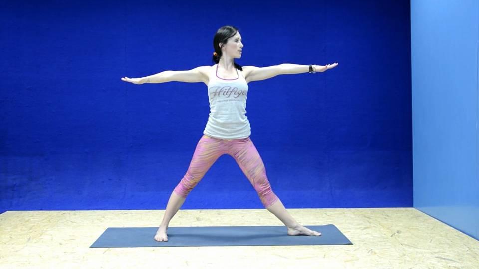 Jóga na uvolnění ramen a protažení zádových svalů