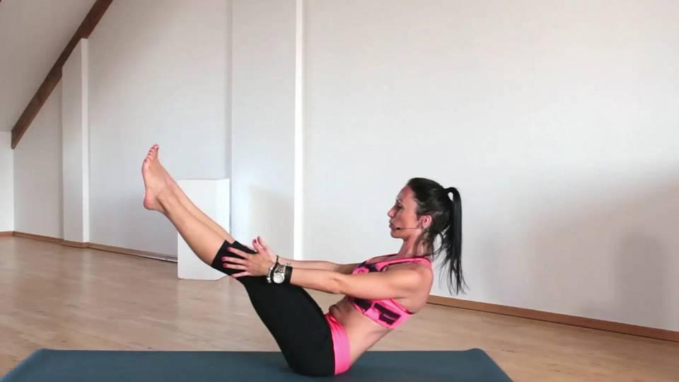 Jóga na posílení břišních svalů