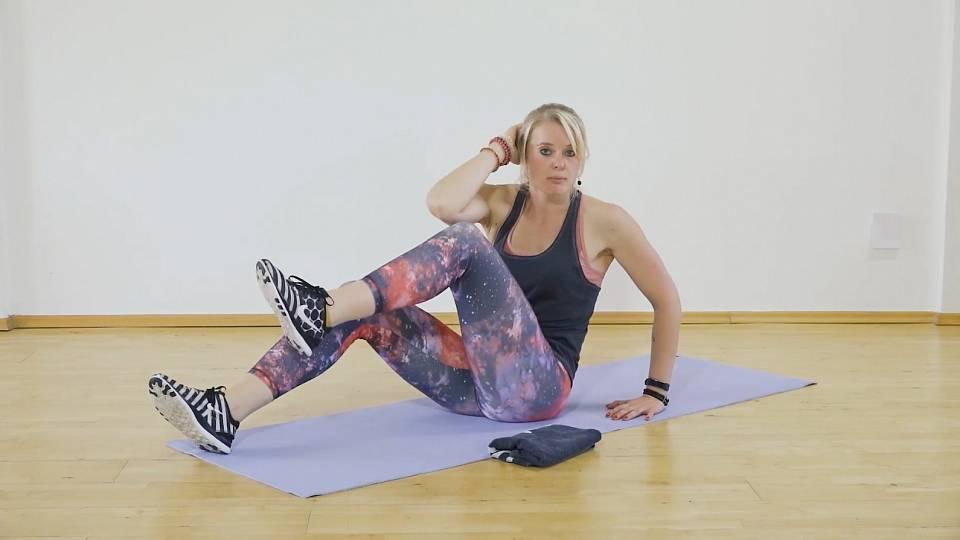 Problémy s nadváhou: cvičení vleže