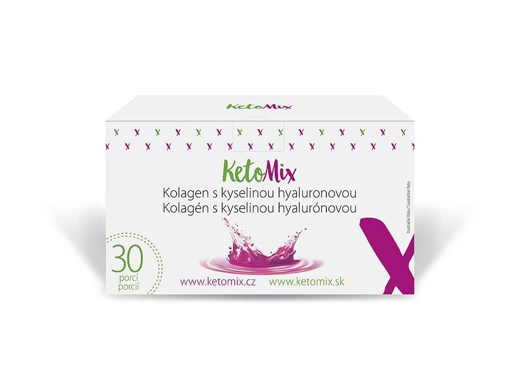 KetoMix Kolagén s kyselinou hyalurónovou (30 porcií) 150 g