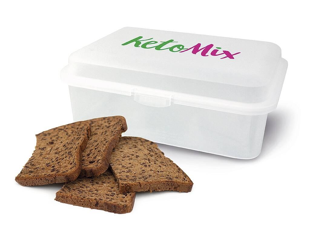 KetoMix Cereálny proteínový chlieb 480 g (10 porcií)