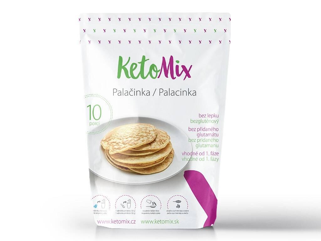 KetoMix Proteínové palacinky (10 porcií) 320 g