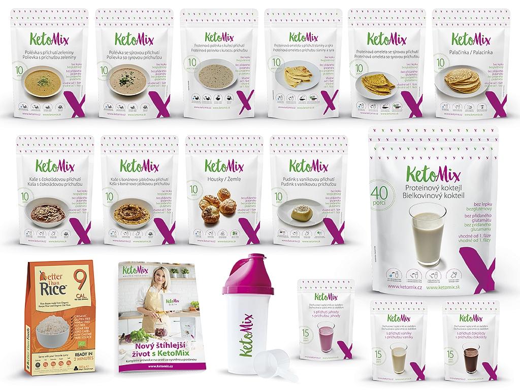 Ketonová dieta na 4 týdny (140 + 70 porcí ZDARMA)