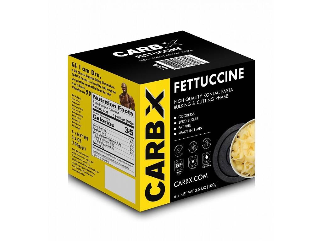 Carb X Fettuccine - Fitness Slim Pasta ve tvaru fetučíne 600g