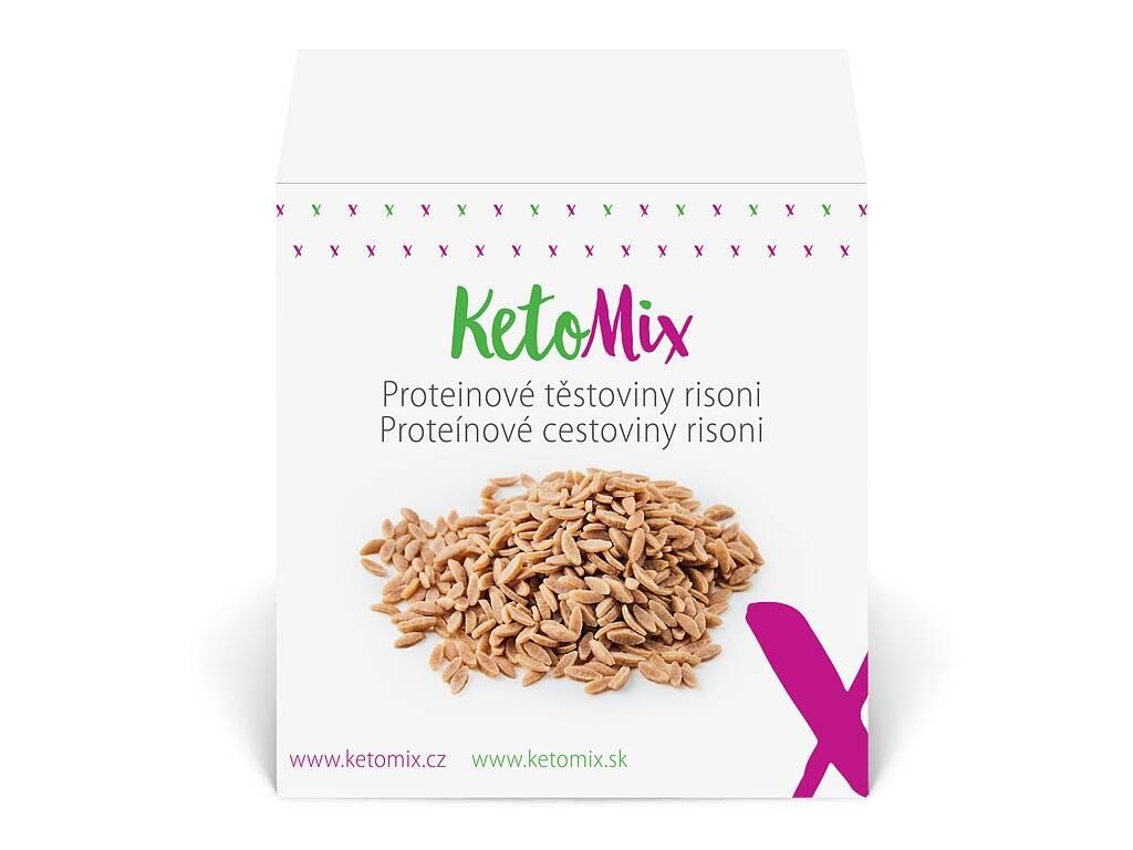 KetoMix Proteínové cestoviny risoni (10 porcií) 300 g