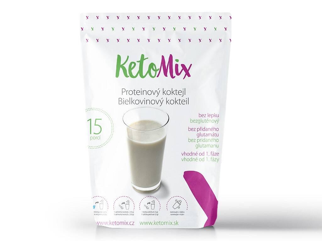 KetoMix Proteínový kokteil (15 porcií) 450 g