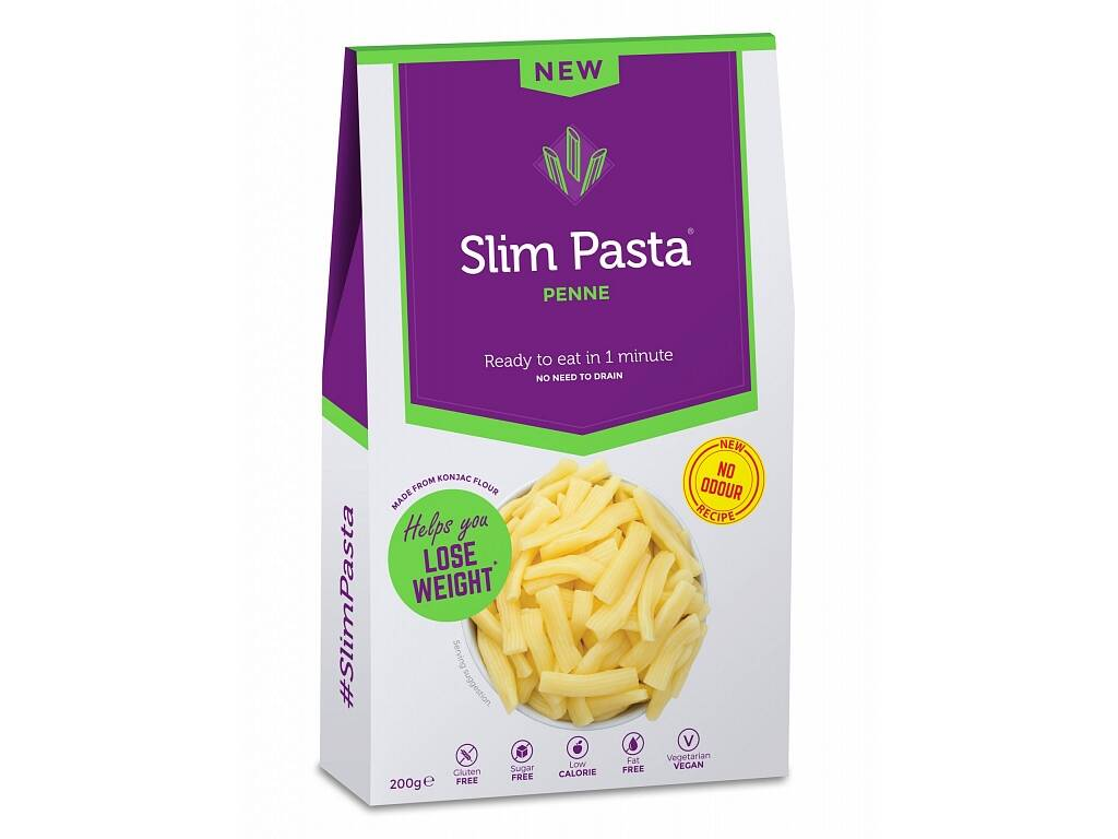 Nah Foods ltd Slim Pasta konjakové penne bez nálevu