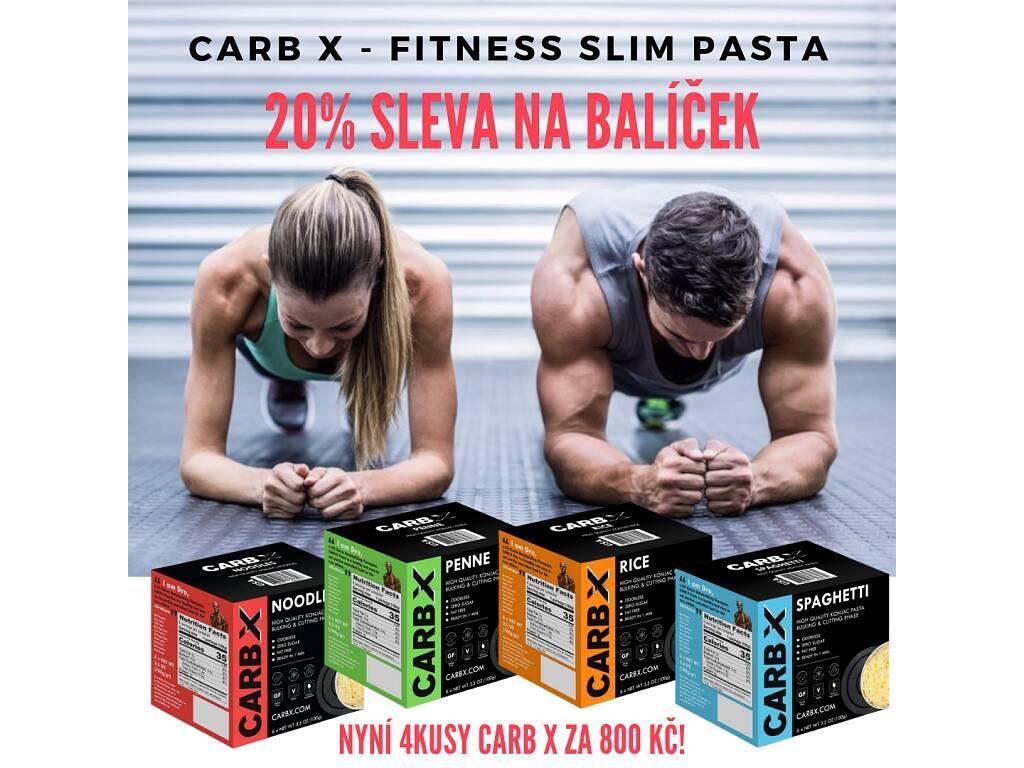 Balíček 4ks Slim Pasty - Carb X. Sleva 20%.