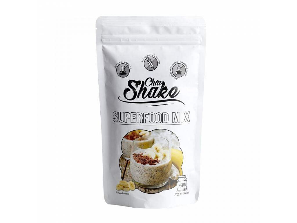 Chia Shake optimal banánový 1200g