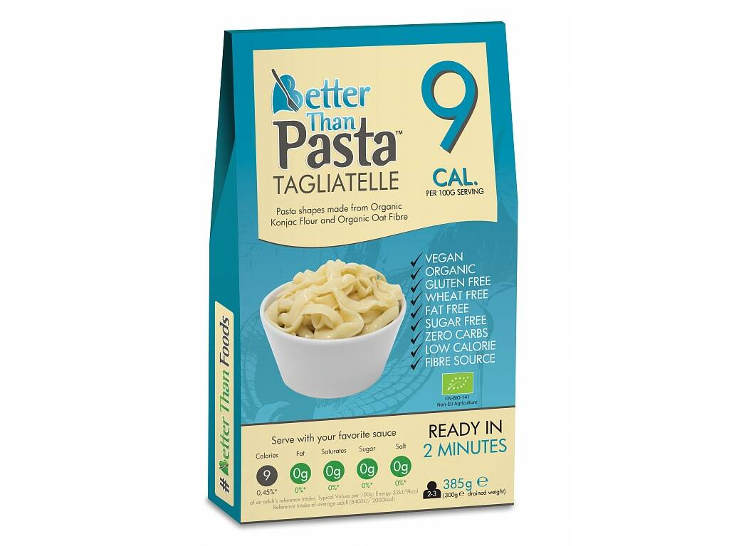 Better Than Foods Konjacové bezsacharidové tagliatelle 385 g