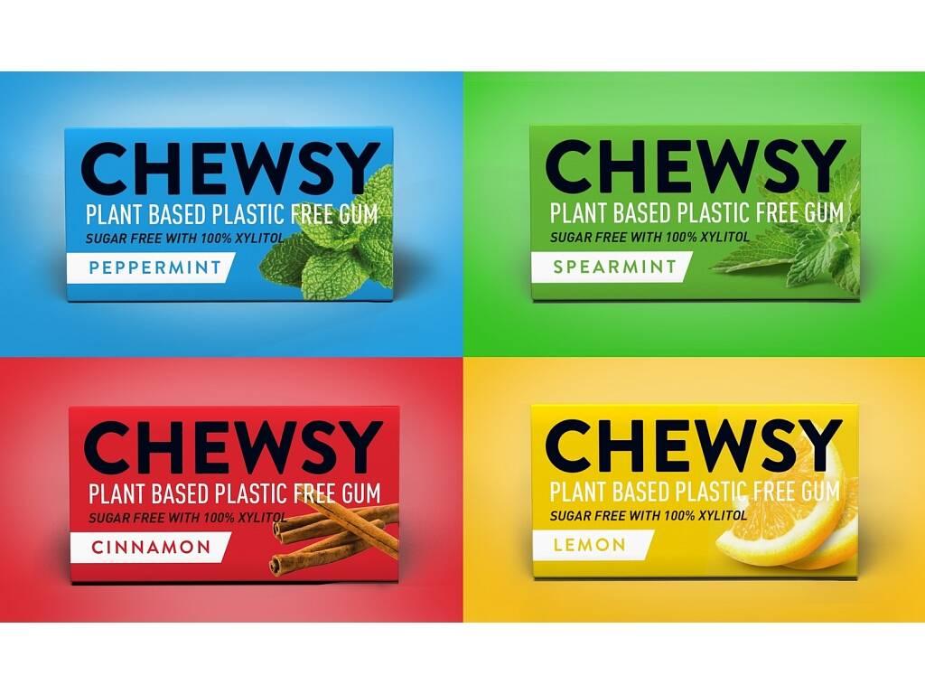 Akční balíček 12 kusů žvýkaček Chewsy. Mix příchutí.