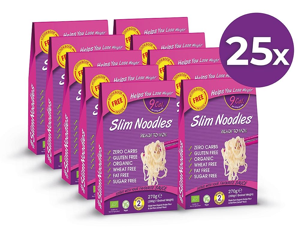 Slim Pasta Výhodný balíček Slim Pasta Rezance (25 ks) 6 750 g