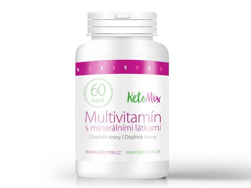 KetoMix Multivitamín s minerálnymi látkami (60 kapsúl)