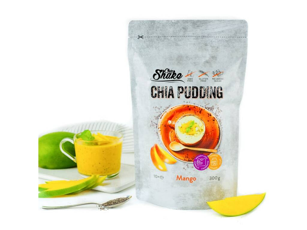 Chia Shake Pudink Mango 300g