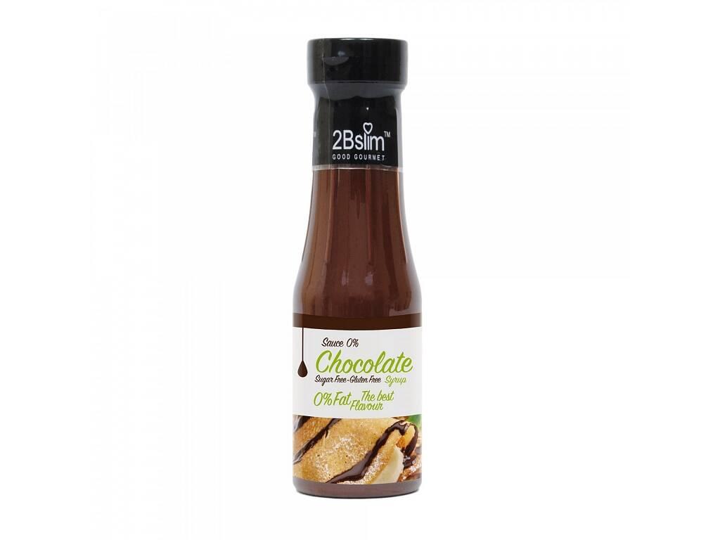 2B Slim - Čokoládová omáčka bez kalorií 250ml