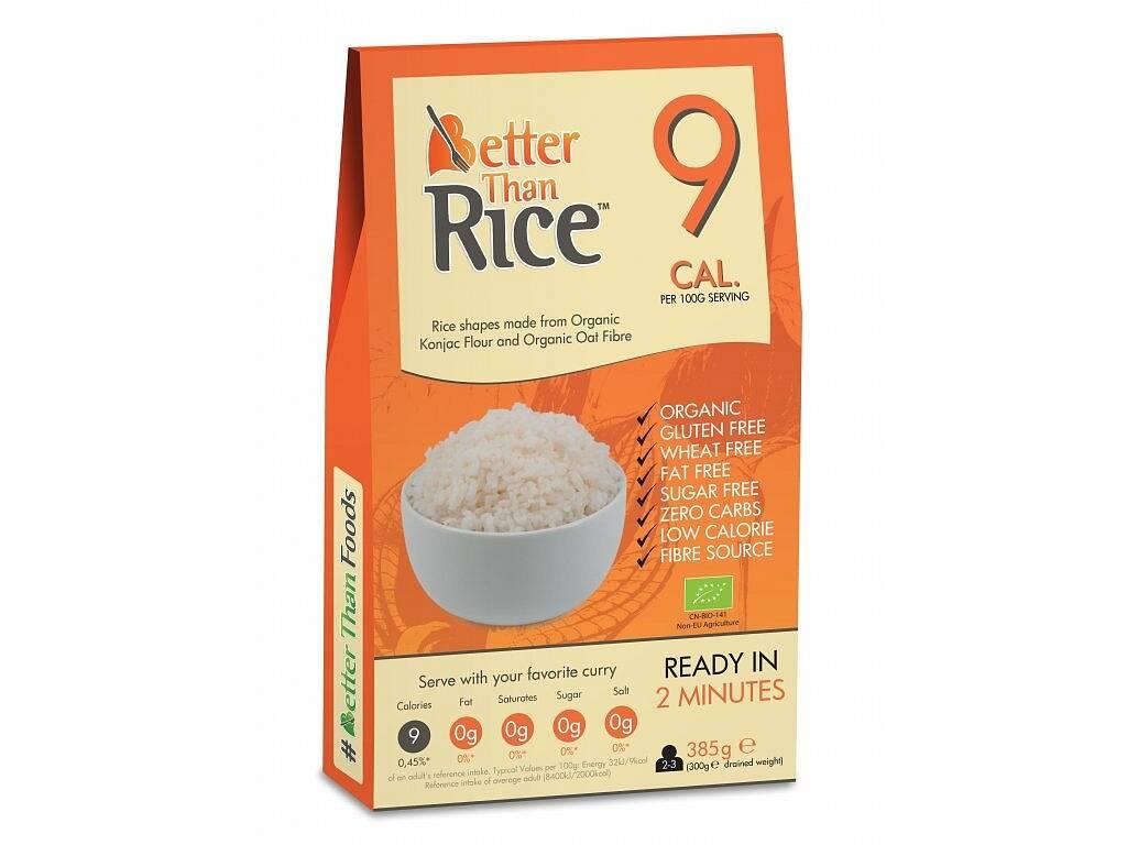 Better Than Foods Konjacová bezsacharidová ryža 385 g