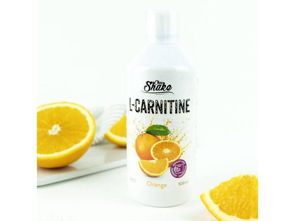 Chia Shake L-Carnitine pomaranč 500ml