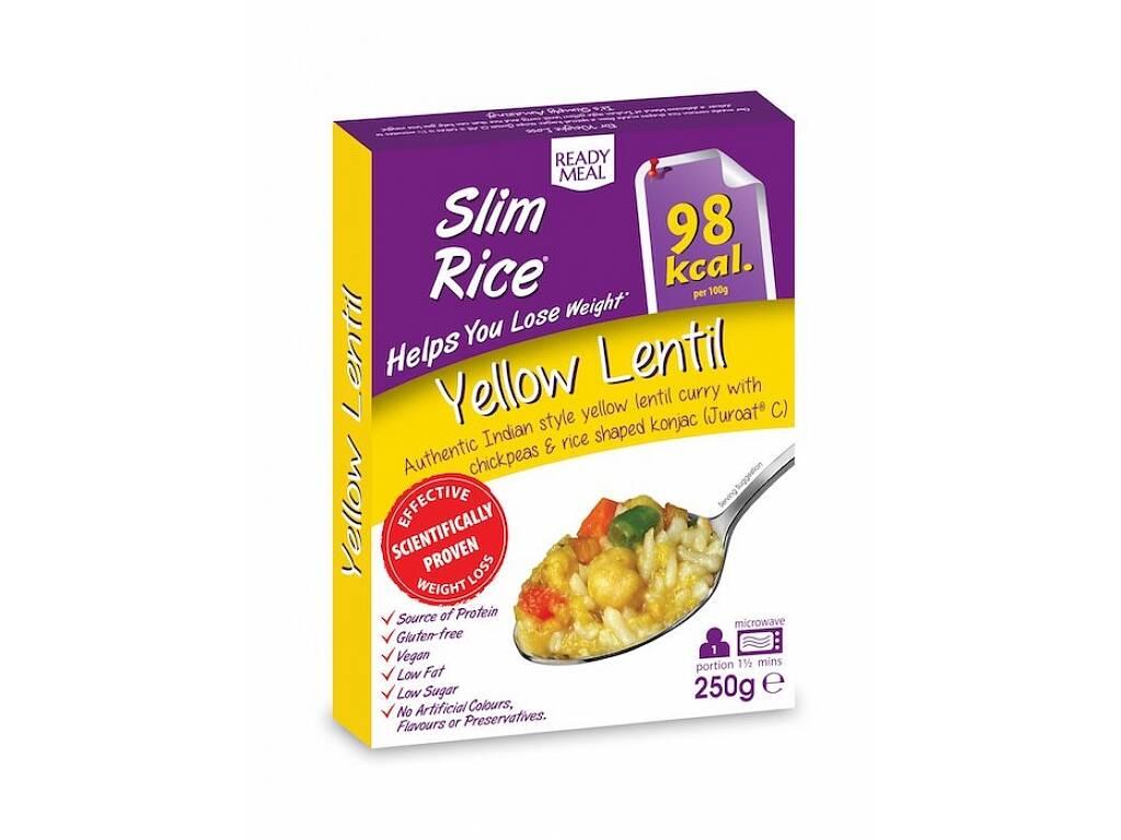 Slim Rice Yellow Lentil - Hotové jídlo s omáčkou na indický způsob 250g