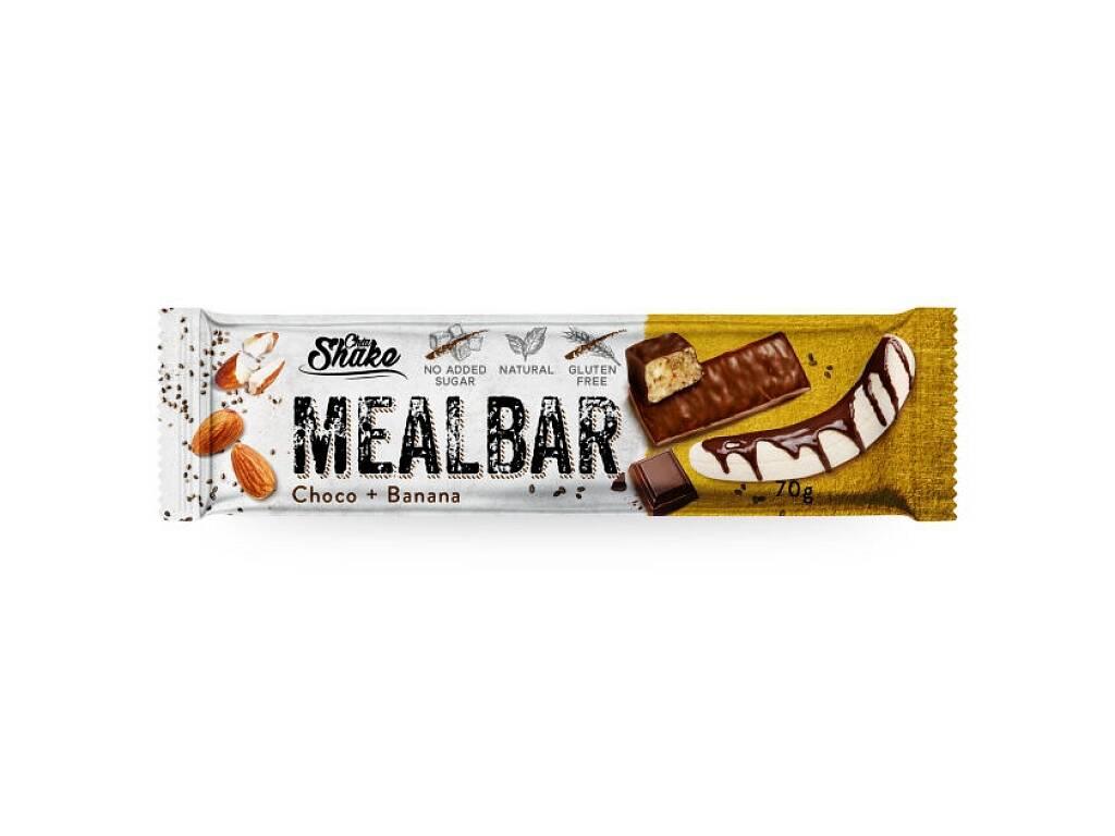 Chia Shake Proteinová tyčinka MEALBAR Banán v čokoládě 70g