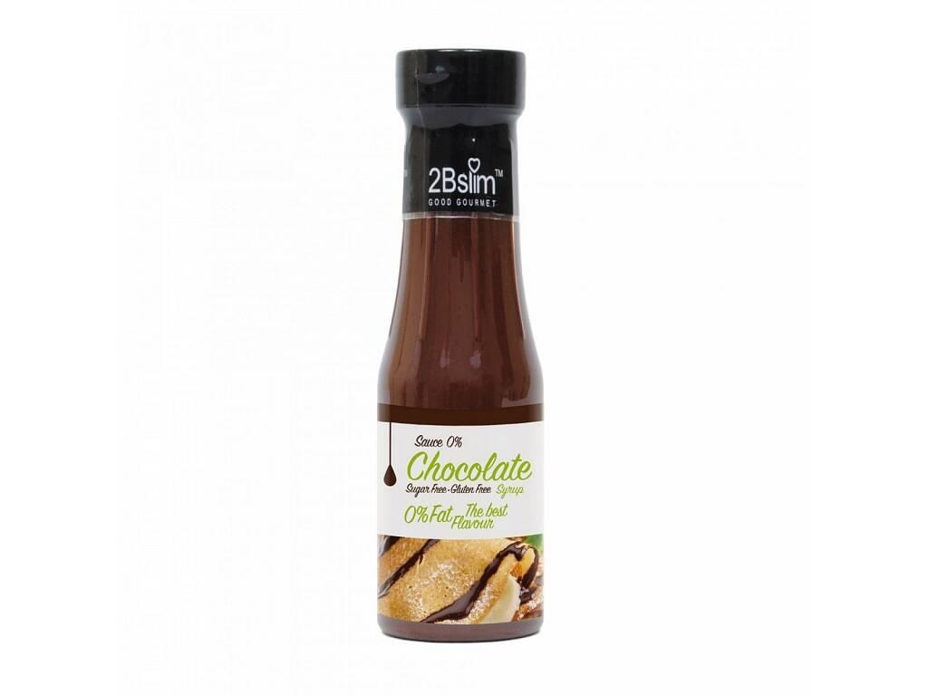 2BSlim Čokoládová omáčka bez kalórií 250 ml