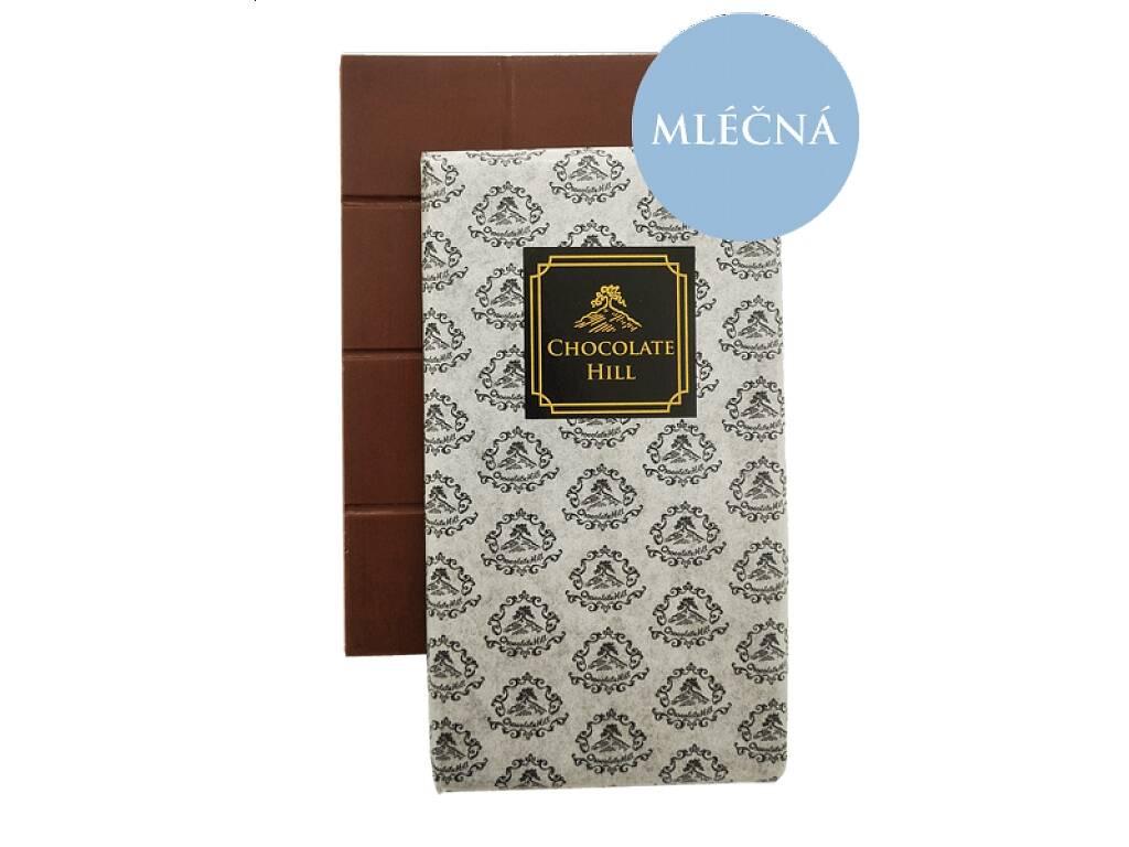 Chocolate Hill Čokoláda bez cukru MLIEČNÁ 52% (sladená erytritolom) 60 g