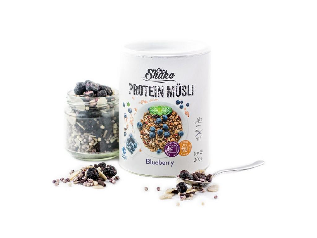 Chia Shake Proteinové müsli borůvka 300g