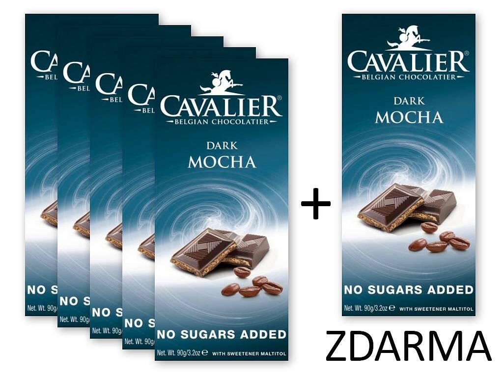 Cavalier Čokoláda DARK MOCHA 5+1 ZDARMA