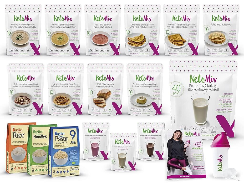 KetoMix Ketónová diéta na 4 týždne (140 porcií)