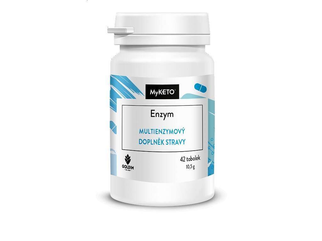 MyKETO Enzym, trávení, 10,5 g, 42 tobolek