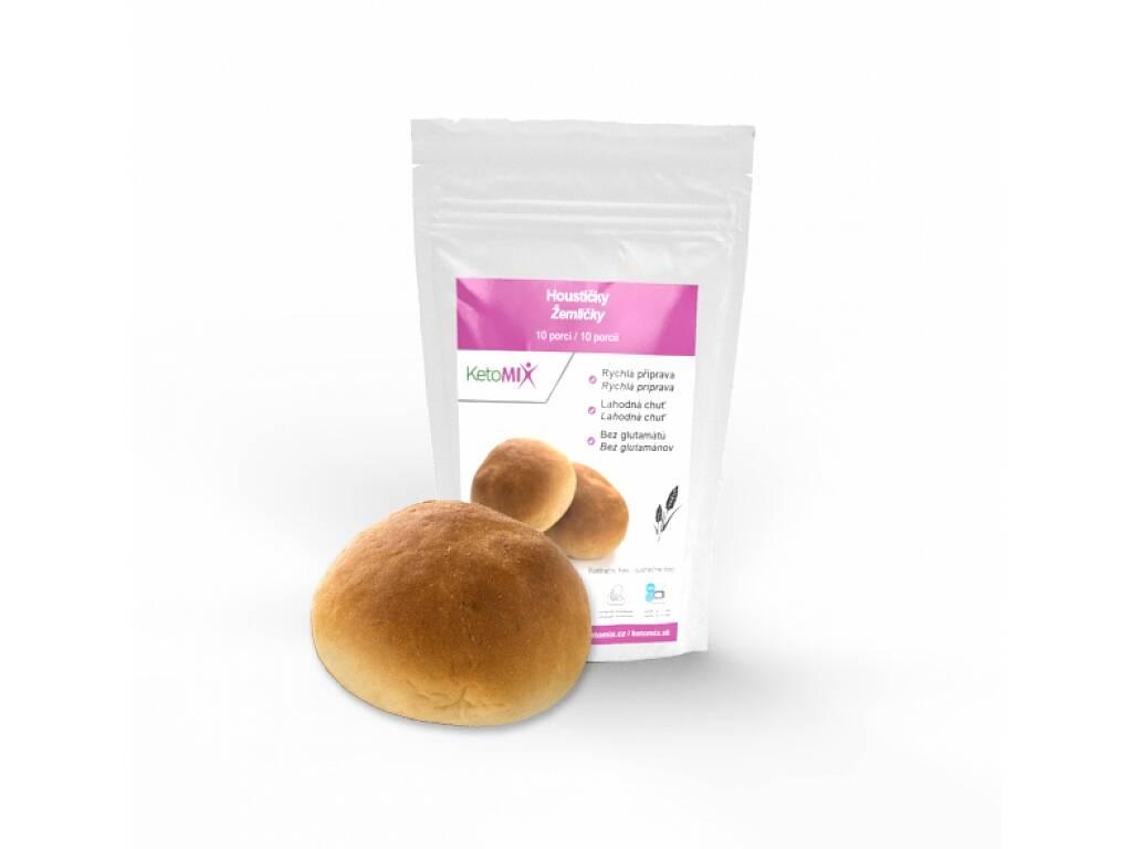 KetoMix Proteinové houstičky 300 g (10 porcí)