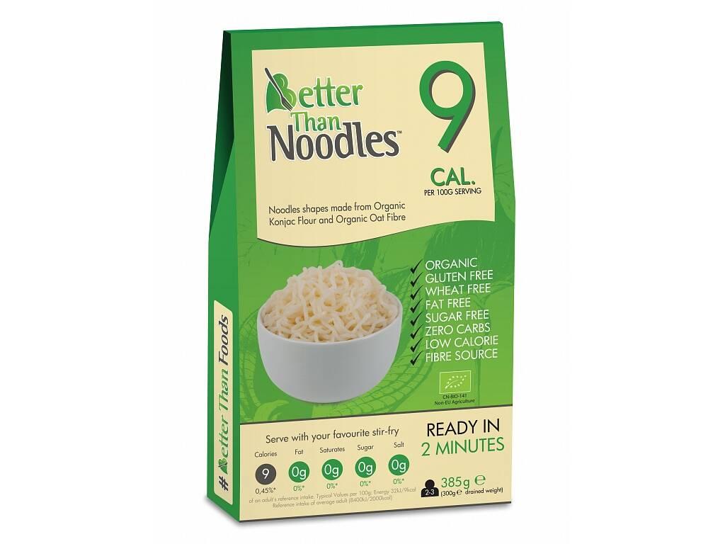 Better Than Foods Konjakové bezsacharidové nudle  385 g