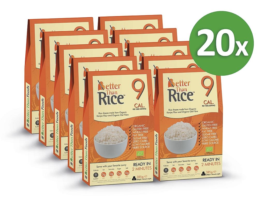 Better Than Foods Konjacová bezsacharidová ryža (15+5 zadarmo)