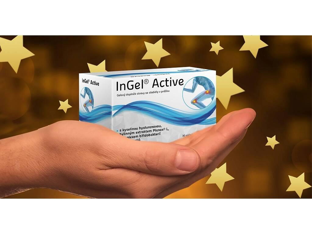 GOLDIM InGel Active, kloubní péče s probiotikem, 189 g, 30 sáčků