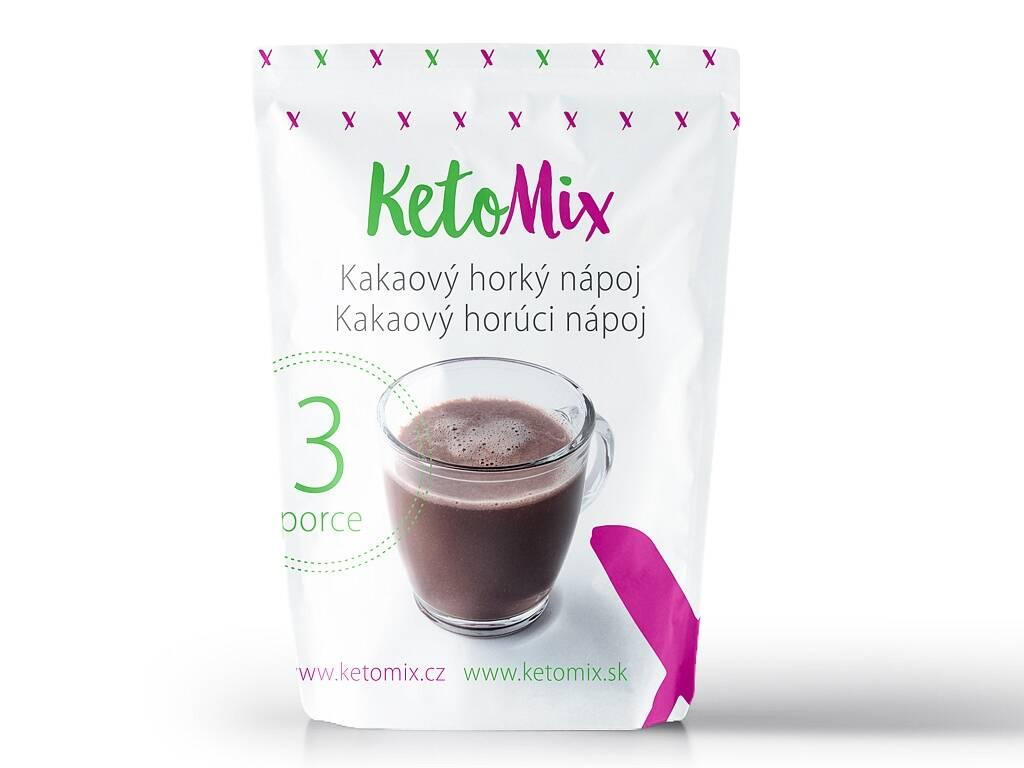 KetoMix Kakaový horúci nápoj (3 porcie) 90 g