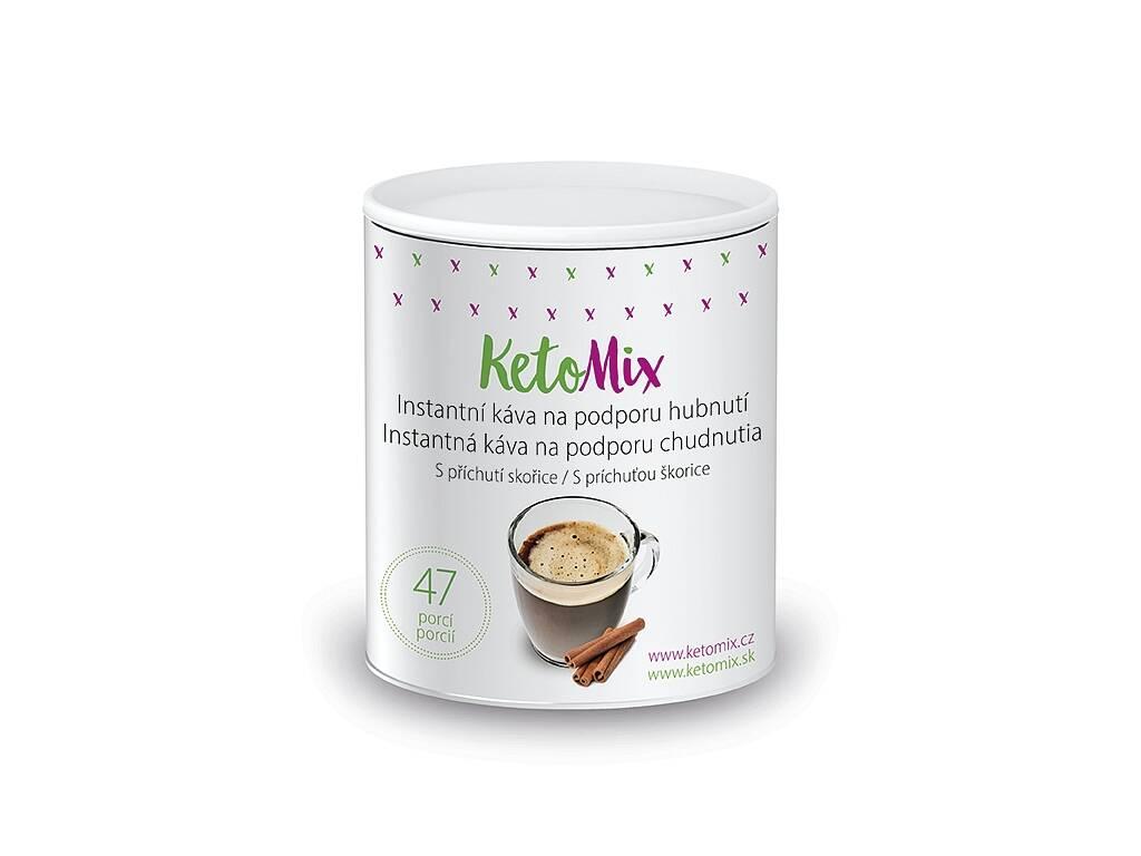 KetoMix Instantná káva na podporu chudnutia s príchuťou škorice (47 porcií)